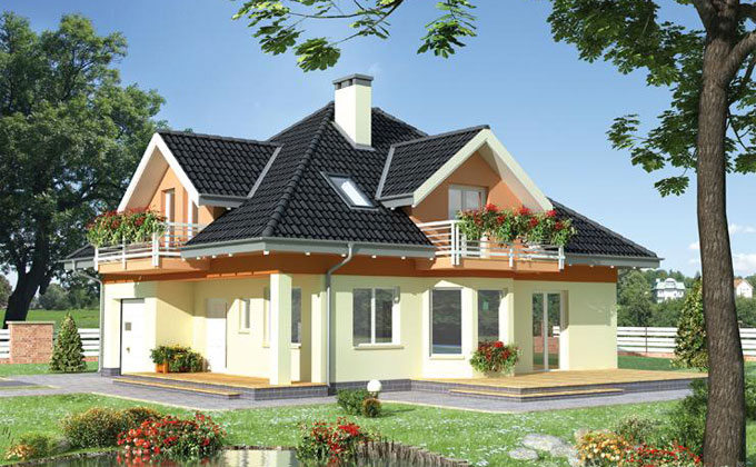 Case din lemn - Model Casa 6
