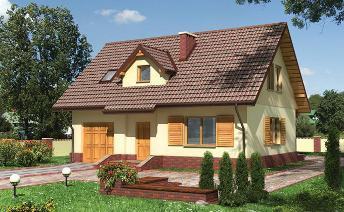 Case din lemn - Model Casa 8