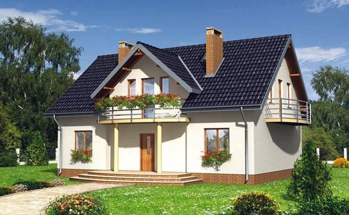 Case din lemn: Casa 10