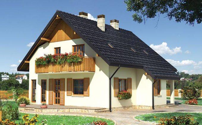 proiect casa de lemn model pcl 11 barat system