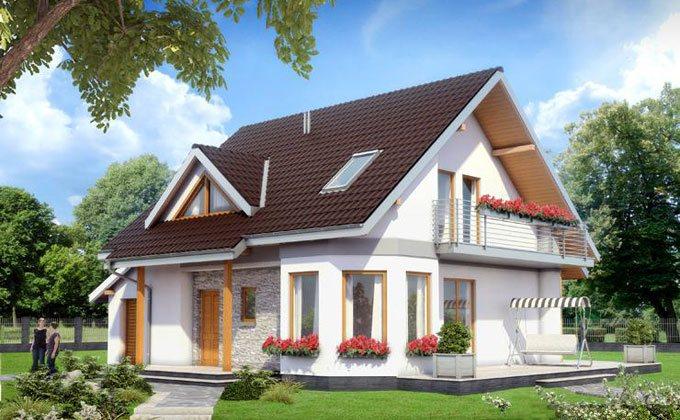 Proiect casa de lemn model pcl 13 barat system for Case din lemn pret 5000 euro