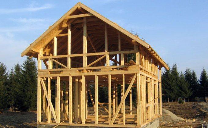 Constructii case din lemn Harghita