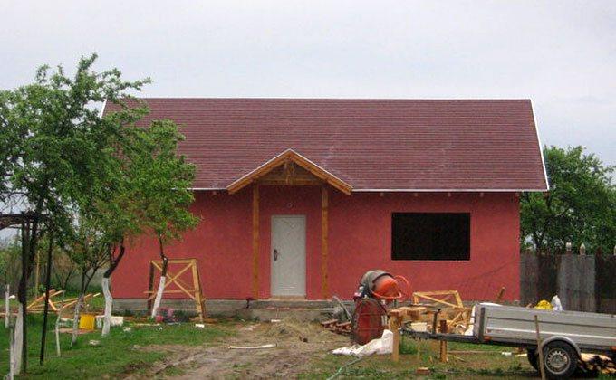 Constructie casa de lemn Timisoara