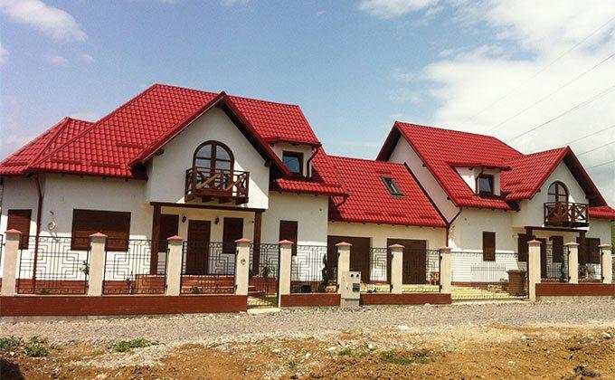 Case din lemn duplex