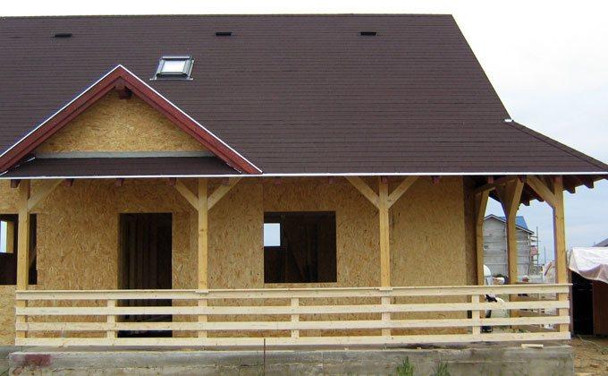 Casa din lemn mica construita in Bucuresti