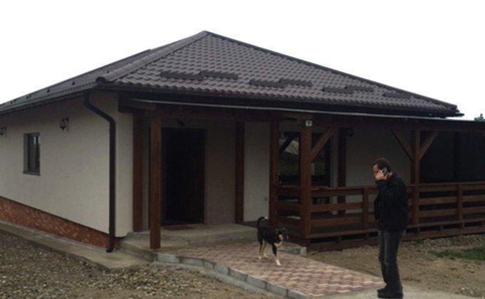 Casa din lemn parter Viile Satu Mare