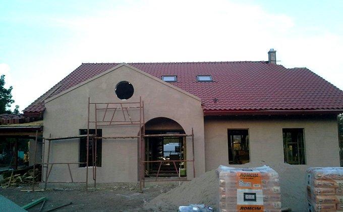 Casa cu mansarda stil american Tulcea