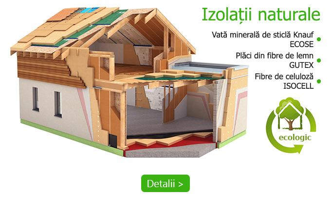 izolatii pentru casa cu materiale naturale