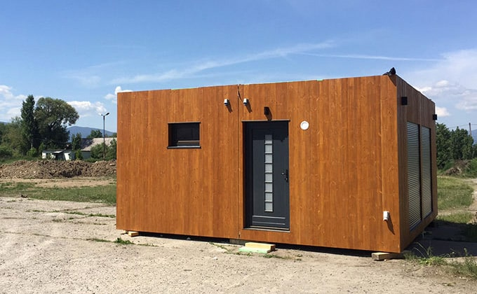 Casa container din lemn Tiny Vero