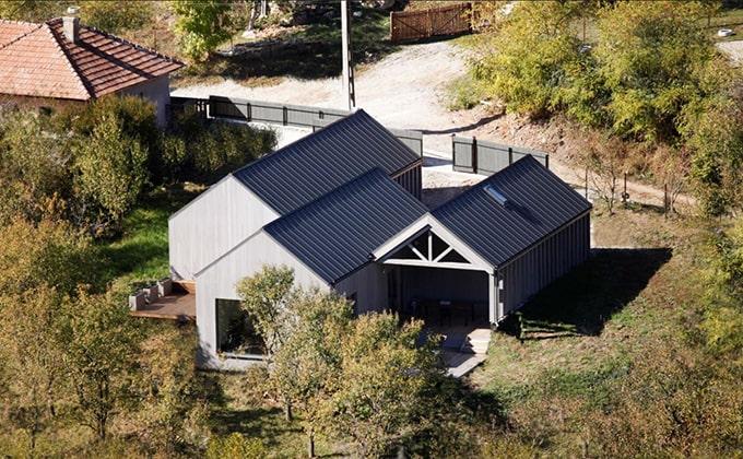 Casa pasiva pe structura de lemn Cluj-Napoca