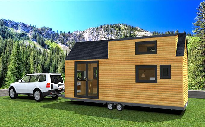 Tiny house concept Aida