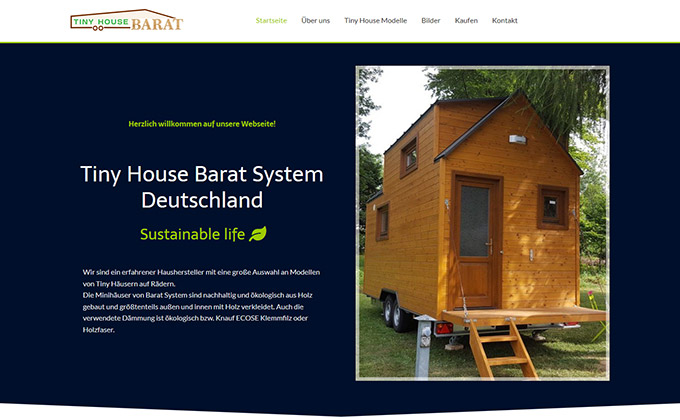 tinyhousebarat.de website