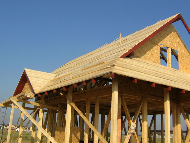 Casa de locuit din lemn si placi OSB construita in Bucuresti - Poza 2