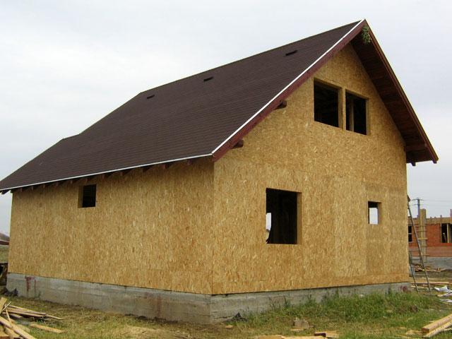Casa de locuit din lemn si placi OSB construita in Bucuresti - Poza 4