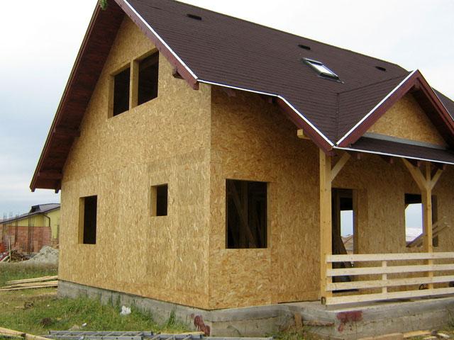 Casa de locuit din lemn si placi OSB construita in Bucuresti - Poza 5