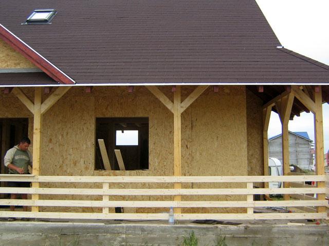 Casa de locuit din lemn si placi OSB construita in Bucuresti - Poza 6
