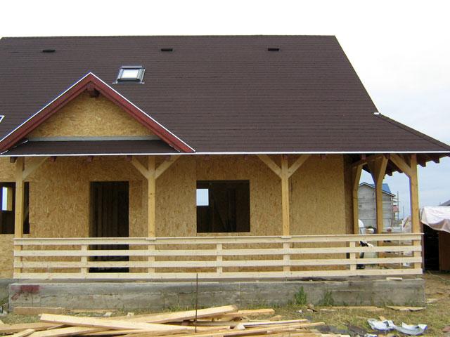 Casa de locuit din lemn si placi OSB construita in Bucuresti - Poza 7