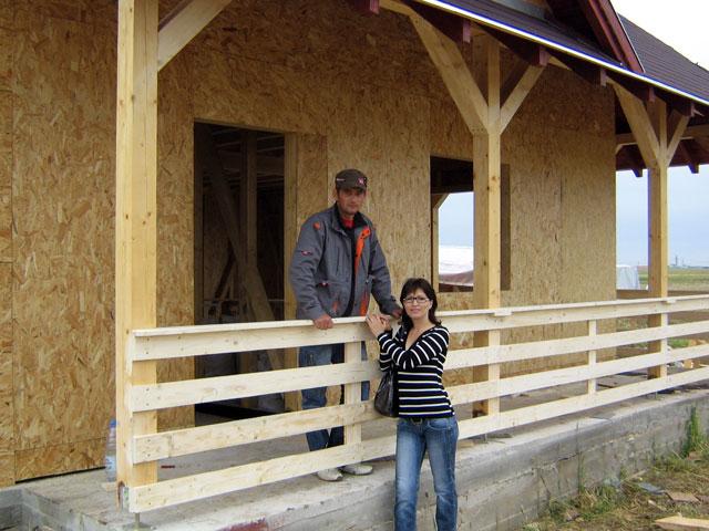 Casa de locuit din lemn si placi OSB construita in Bucuresti - Poza 8