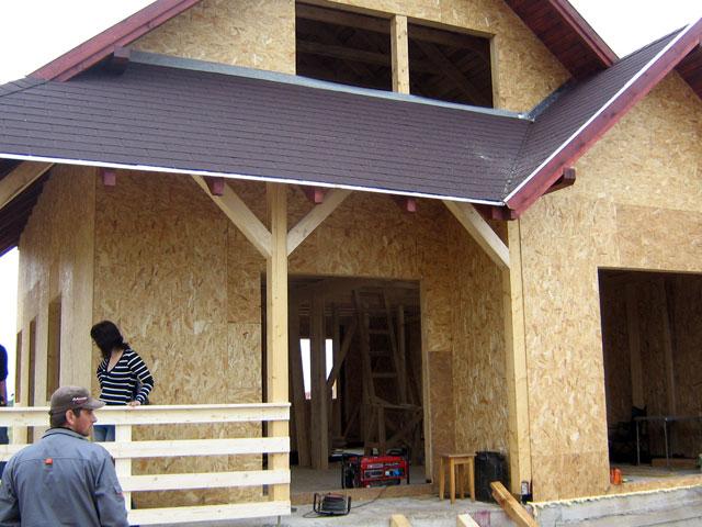 Casa de locuit din lemn si placi OSB construita in Bucuresti - Poza 9