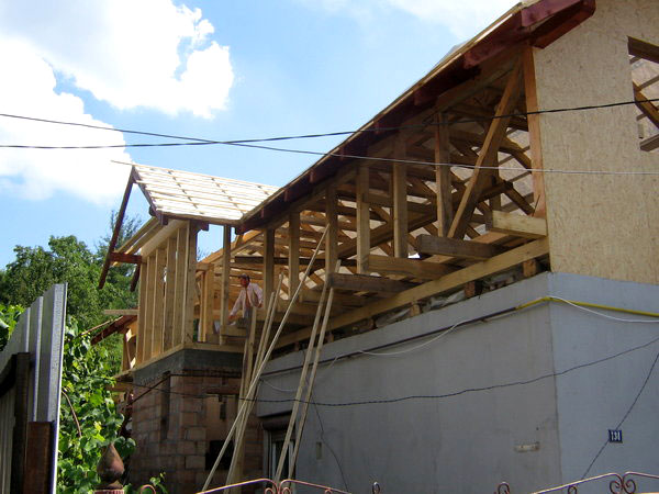 Supraetajare casa, constructie din lemn - imagine 1