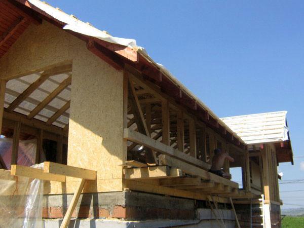 Supraetajare casa, constructie din lemn - imagine 2