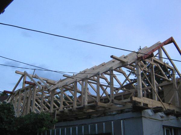 Supraetajare casa, constructie din lemn - imagine 4