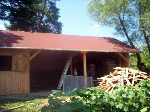 Sura cu grajd din lemn - imagine 4