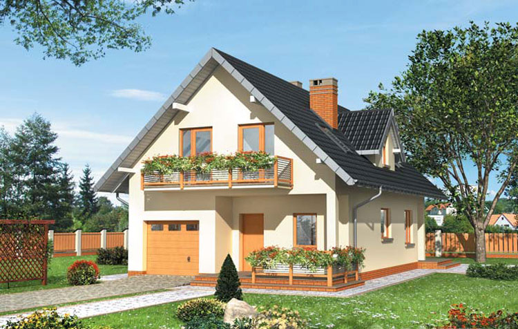 Proiect casa de lemn model pcl 12 barat system for Modele de case